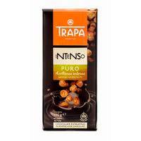 Xocolata intensa pura avellanasenceres TRAPA, rajola 190 g