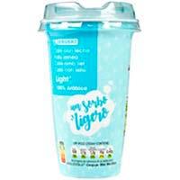 Café light EROSKI, vaso 250 ml