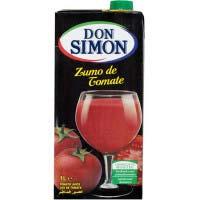 Suc de tomàquet DON SIMON, brik 1 litre