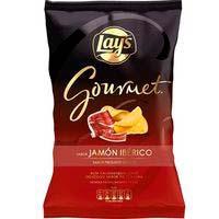 Patatas sabor jamón ibérico LAY`S GOURMET, bolsa 150 g