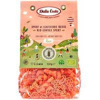 Pasta sport infantil llentia vermella s/g DALLA COSTA, 250 g