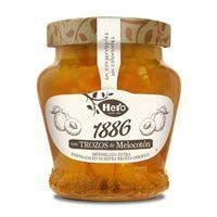 Mermelada de melocotón 1886 HERO, frasco 320 g