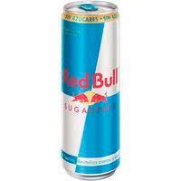 Beguda energètica sense sucre REDBULL, llauna 35,5cl