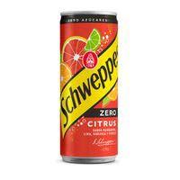 Refresc cítric amb gas zero SCHWEPPES, ampolla 1 litre