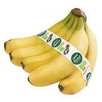 Plátano de Canarias eco EROSKI Natur BIO, al peso, compra mínima