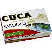 Cuca Sardinas en aceite 120g