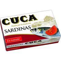 Cuca Sardines amb tomàquet 120 g
