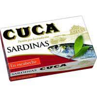 Cuca Sardinas en escabeche 120g
