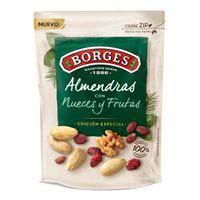 Almendras con nueces y fruta BORGES, bolsa 100 g
