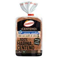 Pan de molde 100% centeno PANRICO, paquete 400 g