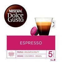 Café espresso DOLCE GUSTO, caja 16 monodosis