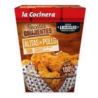 Alitas de pollo americano LA COCINERA, caja 500 g