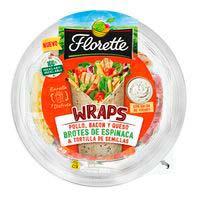 Wrap pollo bacon queso FLORETTE, bowl 255 g