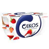 Iogurt grec de maduixaOIKOS,pack4x110g