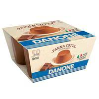 Panna cotta de chocolate DANONE, pack 4x100 g