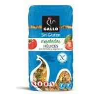 Hélices vegetales sin gluten GALLO, paquete 450 g