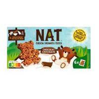 Cereales ositos de chocolate NAT,caja 192 g