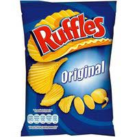 Patatas onduladas Ruffles original MATUTANO, bolsa 282 g