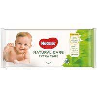 Toallitas Natural Care extra HUGGIES, paquete 56 uds