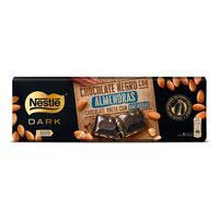 Chocolate negro con almendras NESTLÉ, tableta 270 g