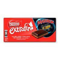 Chocolate extrafino maxibón black NESTLÉ, tableta 170 g