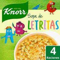 Sopa de lletres KNORR, 82 g