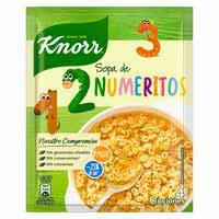 Sopa de numerets KNORR, 84 g