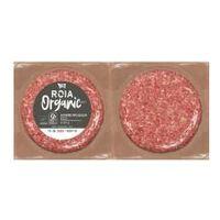 Hamburguesa de vacuno ecológica ROIA ECOCARN Organic Meat, pack 2x120 g