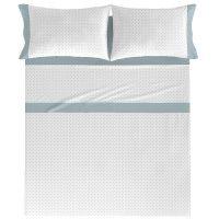 Juego sábanas cama 150 Aqua NAF NAF, 1unid.