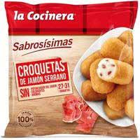Croquetes de pernil serrà LA COCINERA, borsa 500 g