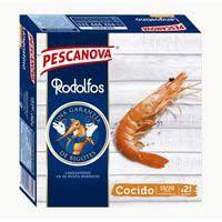 Llagostins vannamei enters cuits 15/20 PESCANOVA, caixa 260 g
