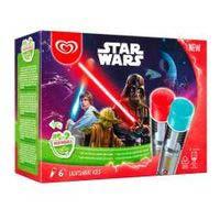 Helado de Star Wars FRIGO, pack 6x80 ml