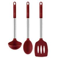 Set utensilios cocina colección ruby MONIX, 3 piezas