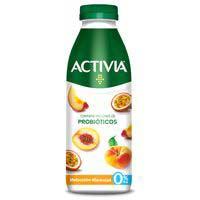 Probiòtic de préssec i maracuià ACTIVIA, ampolla 550 g