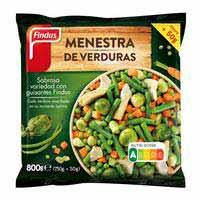Menestra de verdures FINDUS, 800 g