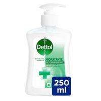 Sabó liquid de mans hidratant DETTOL, dosificador 250ml