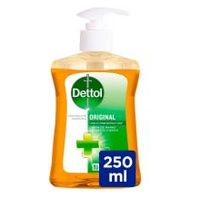 Sabó liquid de mans original DETTOL, dosificador 250ml