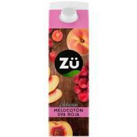 Bebida de melocotón, manzana y uva ZÜ, brik 1 litro