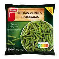 FINDUS Mongeta verda trosseja, 800 g
