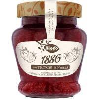 Melmelada 1886 maduixa HERO, 320 g