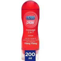 Gel lubricante Play Massage 2en1 DUREX, bote 200 ml