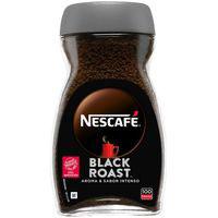 Café Black Roast NESCAFÉ, frasco 200 g
