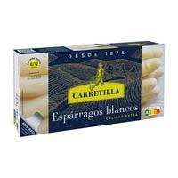 Carretilla Espárragos blancos fiesta 8/12 lata 230g