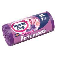 Handy Bag Bolsa basura perfumadas con asas 55x60 - 30 litros 15u