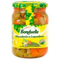 Macedonia de legumbres BONDUELLE, frasco 340 g
