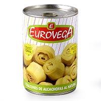 Eurovega Alcachofas 6/8 390g