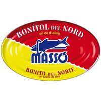 Massó Bonítol del nord oli llauna 228g