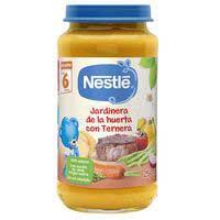 Nestlé Potet jardinera de l'hort amb vedella 250g