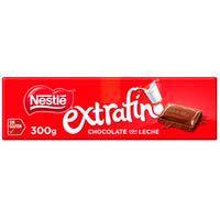 Nestlé Extrafino Tableta de chocolate con leche 300g