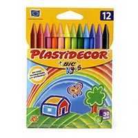 Plastidecor Barres de colors 12u